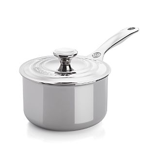 Le Creuset ® Signature 2 qt. Stainless Steel Saucepan with Lid
