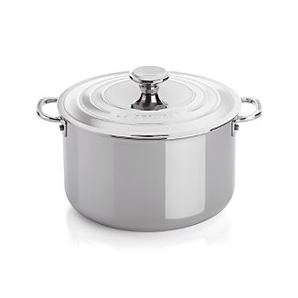 Le Creuset ® Signature 7 qt. Stainless Steel Stock Pot with Lid