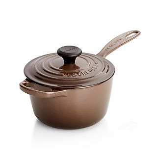 Le Creuset ® Signature 1.75 qt. Truffle Saucepan with Lid
