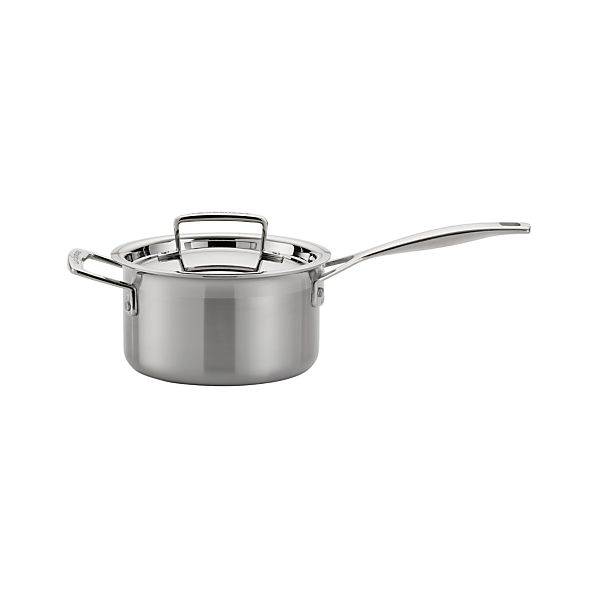 Le Creuset ® 2 qt. Stainless Steel Saucepan with Lid