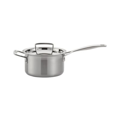 Le Creuset® Stainless Steel 2 qt. Saucepan with Lid