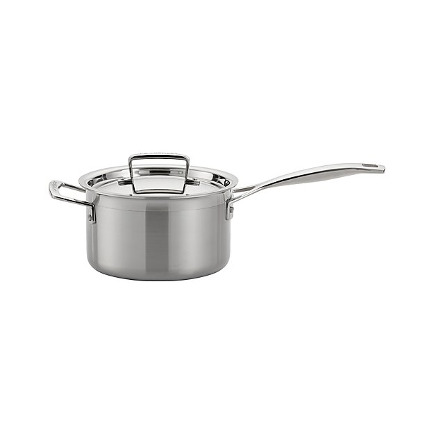 Le Creuset ® 3 qt. Stainless Steel Saucepan with Lid