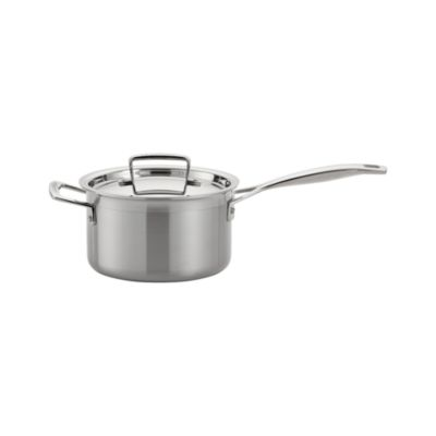 Le Creuset® Stainless Steel 3 qt. Saucepan with Lid