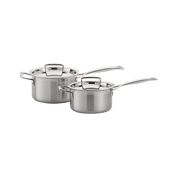 Le Creuset ® Stainless Steel Saucepans with Lids