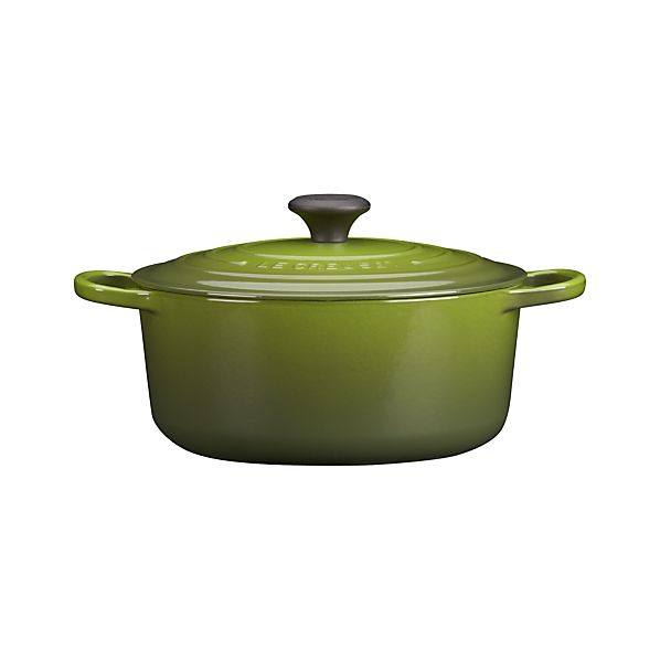 Le Creuset ® 5.5 qt. Round Spinach French Oven with Lid