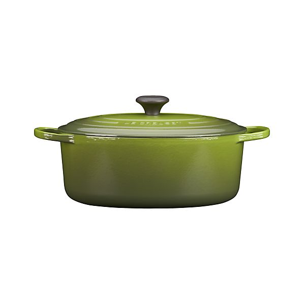 Le Creuset ® 6.75 qt. Oval Spinach French Oven with Lid
