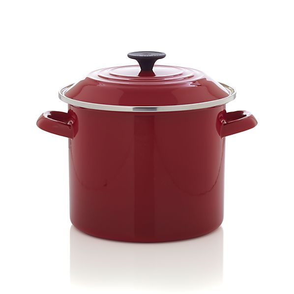Le Creuset ® 8 qt. Red Stock Pot