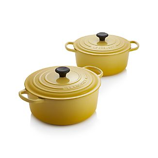 Le Creuset ® Signature Round Soleil French Ovens