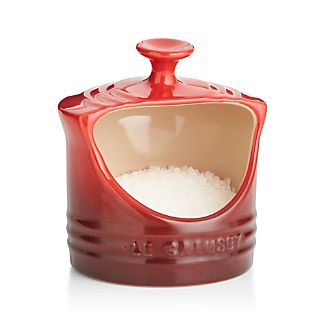 Le Creuset ® Cerise Red Salt Crock
