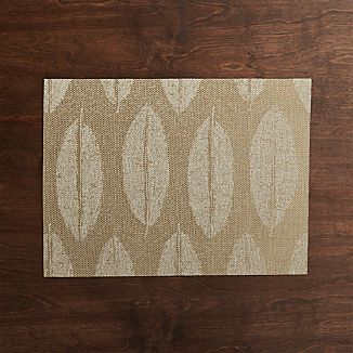 Leaf Jacquard Reversible Placemat