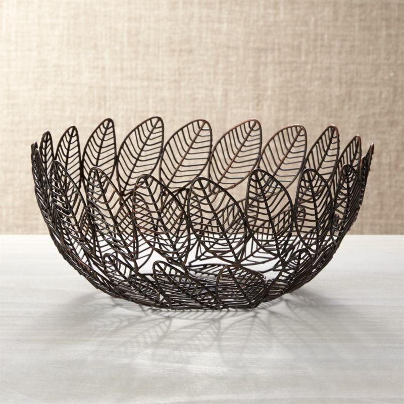 Leaf Wire Basket