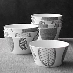 Set of 8 Leif Bowls