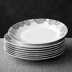 Set of 8 Leif Dinner Plates
