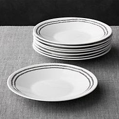 Set of 8 Leif Salad Plates
