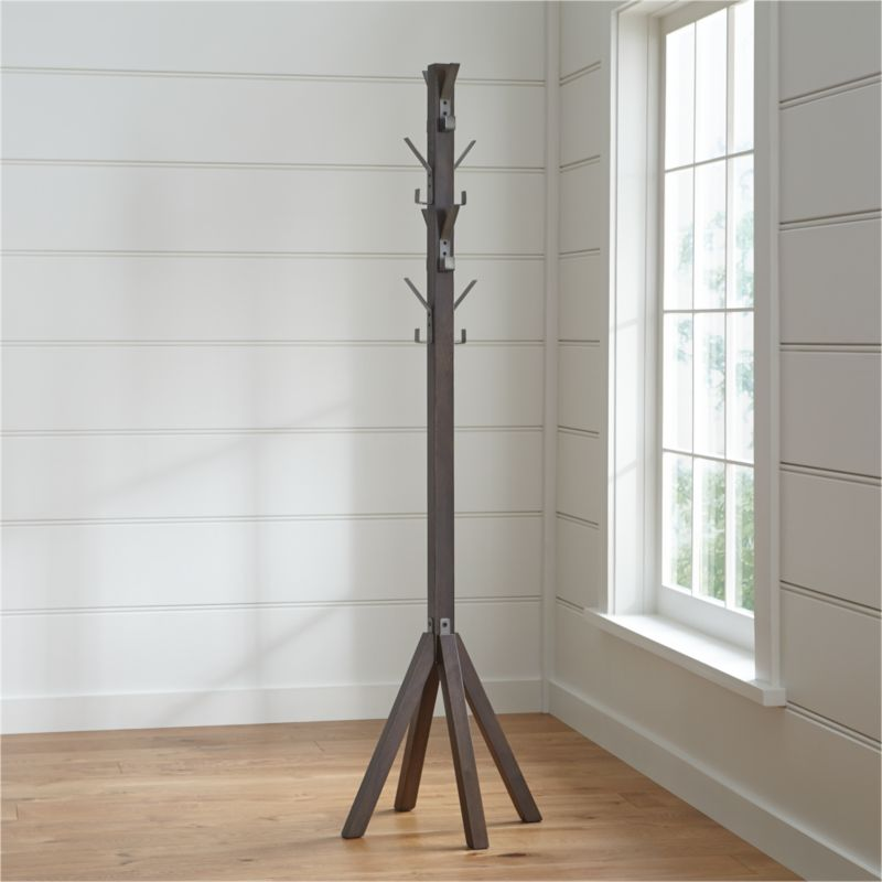 Leigh Standing Coat Rack Crate And Barrel