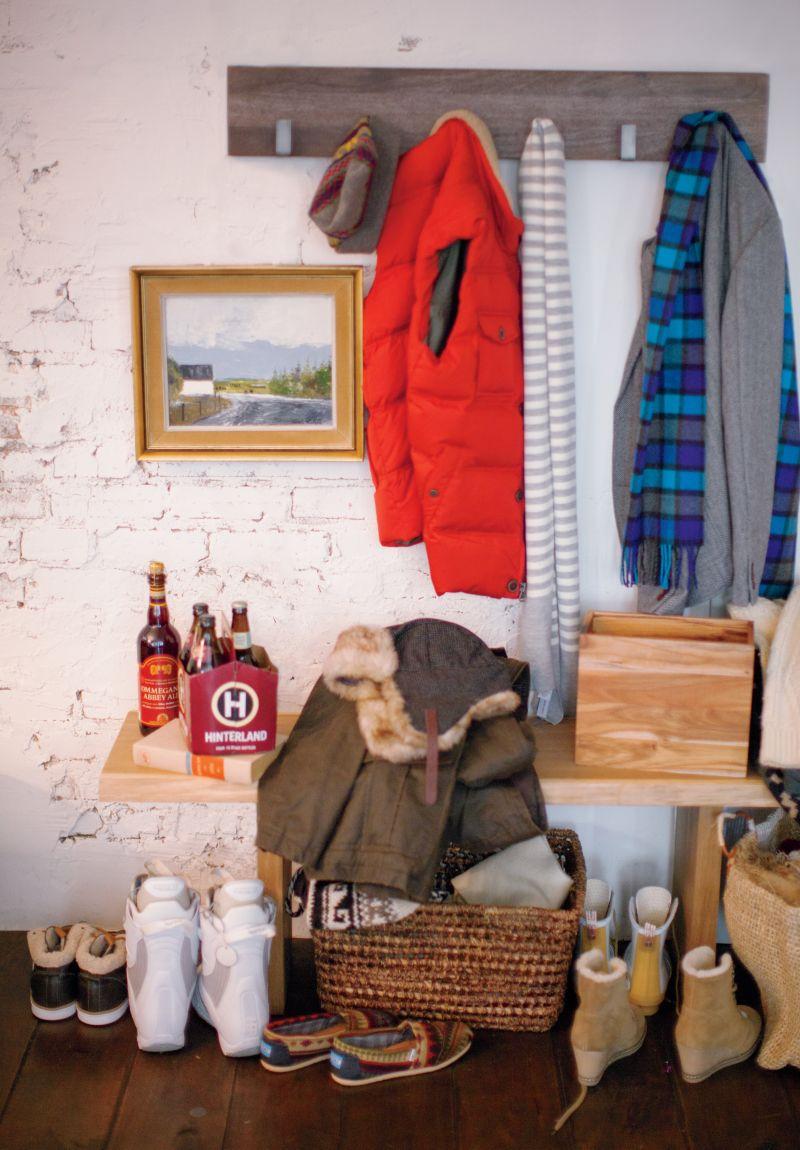 Leigh Wall Mounted Coat Rack