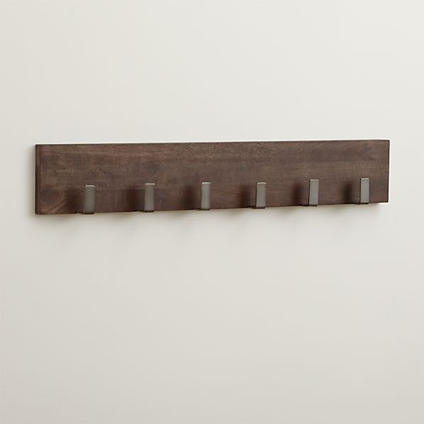 Leigh Wall Mounted Coat Rack In Coat Racks