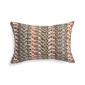 "Leilani Orange 22""x15"" Pillow"