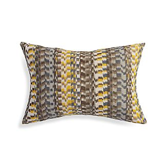 "Leilani Yellow 22""x15"" Pillow"