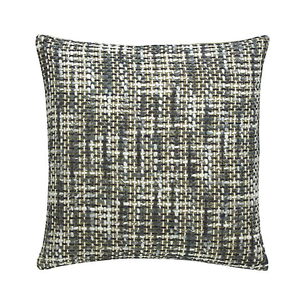 "Lena 20"" Pillow with Down-Alternative Insert"