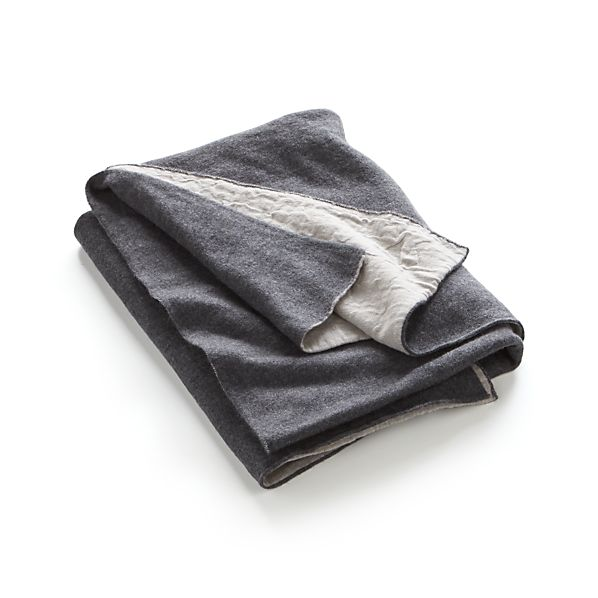 Lennon Grey Throw
