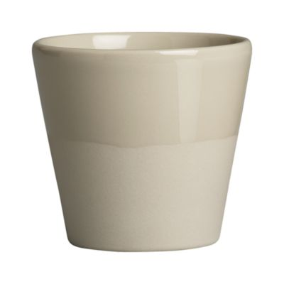 Leone Grey Double Espresso Cup