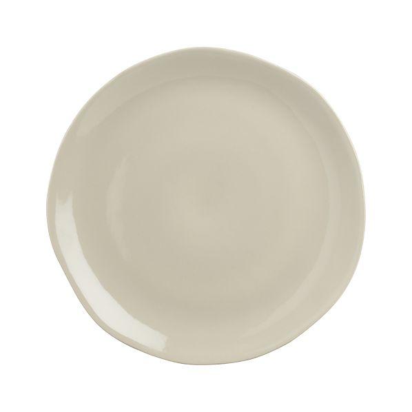 "Leone 10.25"" Grey Plate"