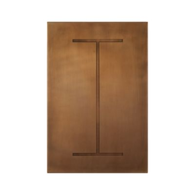 Brass Letter I Wall Art