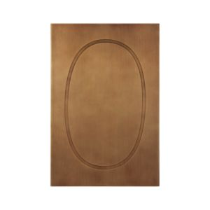 Brass Letter O Wall Art