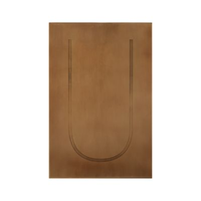 Brass Letter U Wall Art