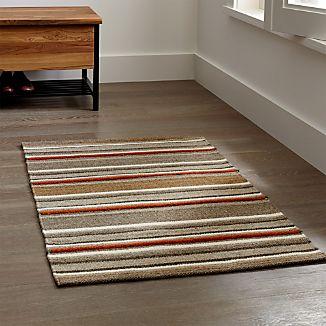 Lia Stripe Wool-Blend Rug