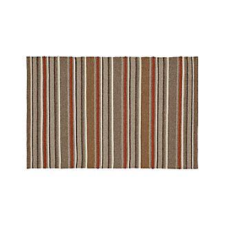 Lia Stripe Wool-Blend 4'x6' Rug