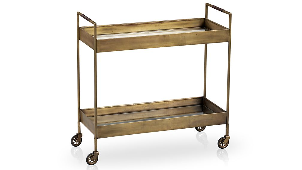 Libations Bar Cart Crate And Barrel