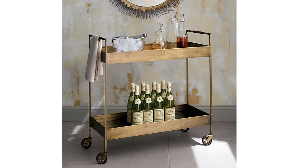 Libations Bar Cart