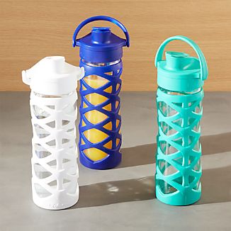 Lifefactory 16 oz. Glass Bottles with Active Flip Top