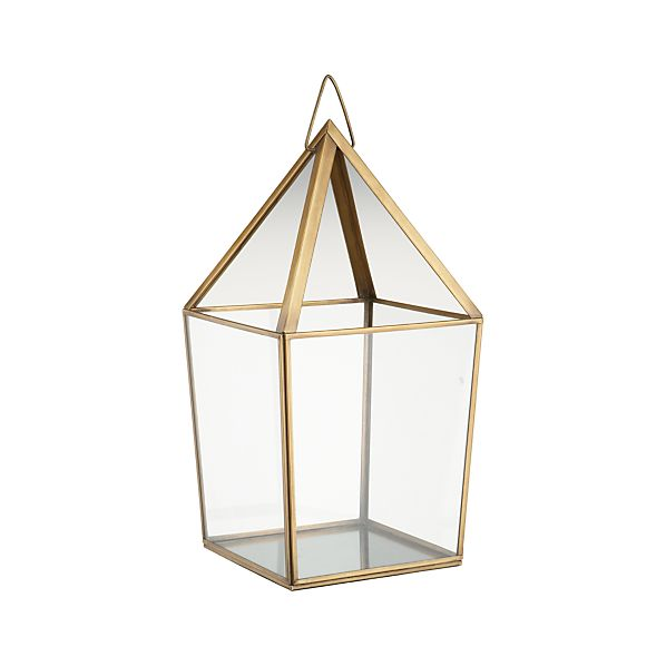 Lillian Brass Metal Large Lantern
