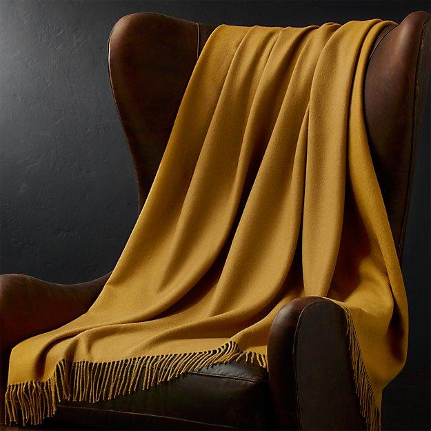 Lima Alpaca Caramel Throw Blanket