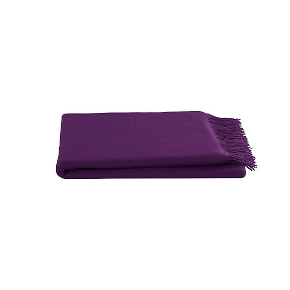 Lima Alpaca Amethyst Throw