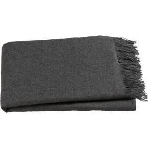 Lima Alpaca Charcoal Throw