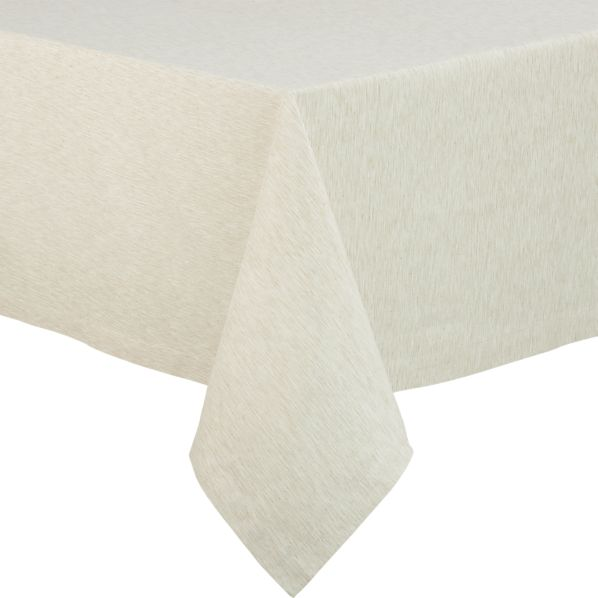 "Linden Ecru  60""x120"" Tablecloth"