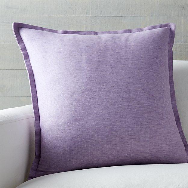 Down Alternative Decorative Pillows : Linden Lavender Purple 23