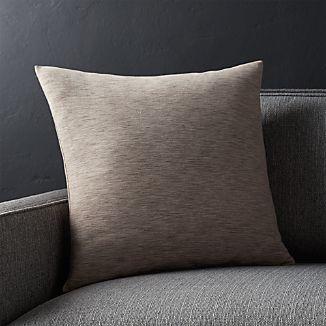 """Linden Mushroom Grey 18"""" Pillow"""