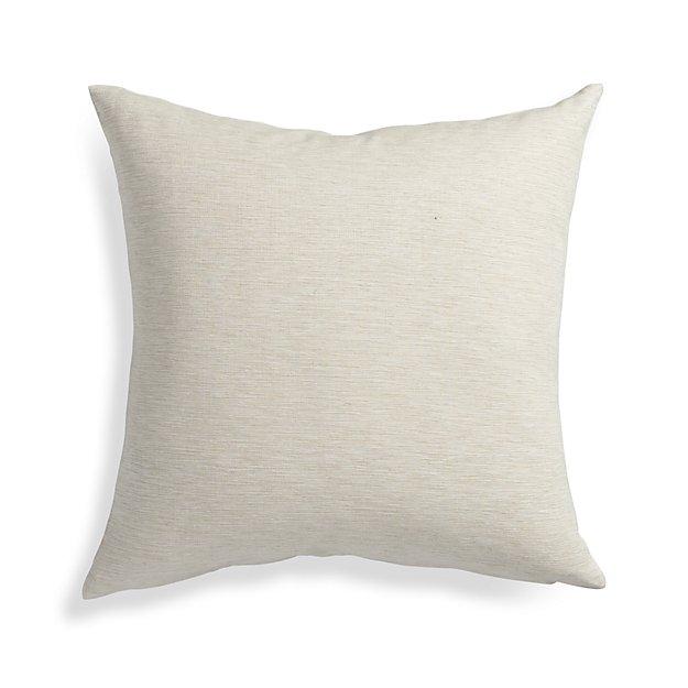 Natural Throw Pillow Inserts : Linden Natural 18