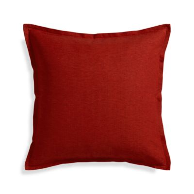 Linden Garnet 23 Pillow with Down-Alternative Insert