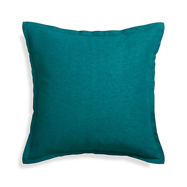 "Linden Peacock Blue 23"" Pillow"