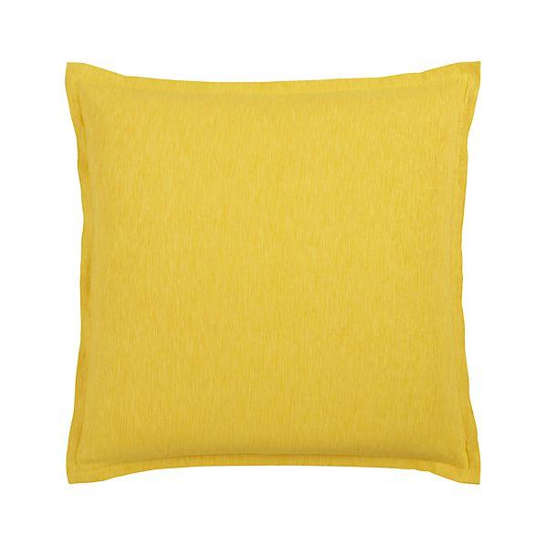 """Linden Yellow 23"""" Pillow"""