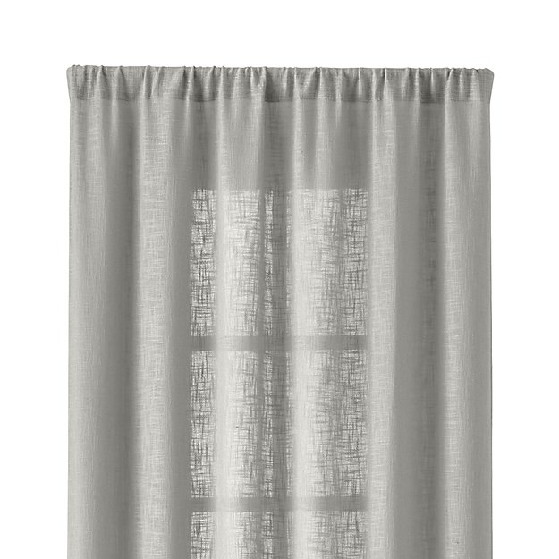 "Lindstrom 48""x108"" Grey Curtain Panel"