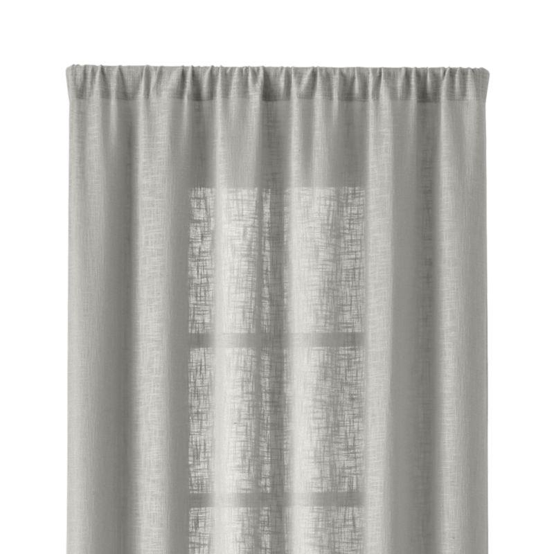 "Lindstrom 48""x84"" Grey Curtain Panel"