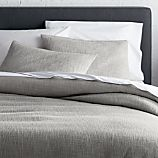 Lindstrom Grey Full/Queen Duvet Cover