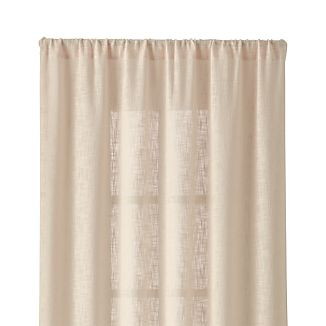 "Lindstrom Ivory 48""x84"" Curtain Panel"